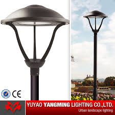 light post for sale 60w led gardeb post top fixture china garden light manufacturer