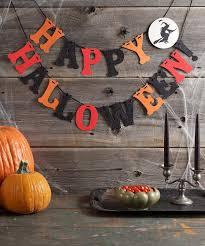 martha stewart crafts witch u0027happy halloween u0027 garland halloween
