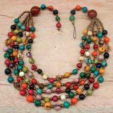 color bead necklace images How my student tracey sells products in the united states from a jpg