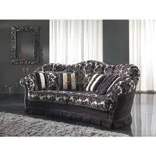 canapé baroque moderne stylisé baroque moderne tissu au choix donatello