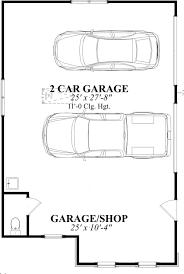 size of 2 car garage 2 car garage plans