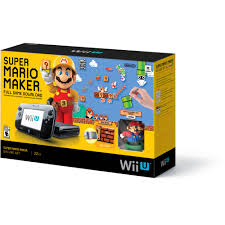 best black friday wii u deals nintendo wii u super mario maker console deluxe set walmart