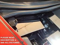 corvette stainless creations corvette c6 2005 2013 stainless battery cover best design