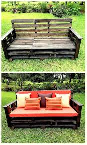 Pallets Patio Furniture by Best 25 Pallet Outdoor Furniture Ideas On Pinterest Diy Pallet