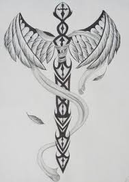 winged sword by gothic moon by tattoo designers ramos