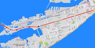 Galveston Map Galveston Issues Rfp Plans To Revamp The Streetscape Of The