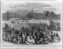the origin of black friday and slavery slavery and emancipation in the nation u0027s capital national archives