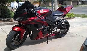 matte black w red fairing injection for 2007 2008 honda cbr 600 rr