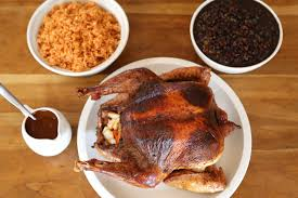 mexican style thanksgiving chile rubbed roast turkey