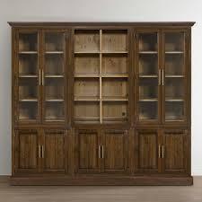 Bookcase Modular Storeroom Modular Storage Triple Library Bookcase