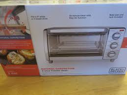 Black And Decker Toaster Oven To1675b Natural Convection Toaster Oven Black Decker