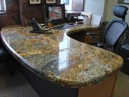 Granite Reception Desk Reception Desks Gta Countertops Throughout Granite Top Desk