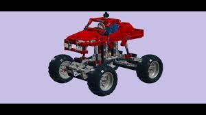 lego technic 42005 monster truck ldd speed build