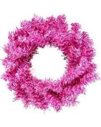 get the deal vickerman 6 in fuchsia artificial wreath