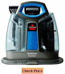 bissell spotclean anywhere portable carpet cleaner 97491 review