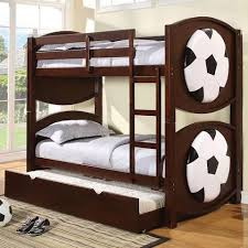 Bunk Bed On Sale Acme Furniture All Sports Themed Soccer Bunkbed Décor Price
