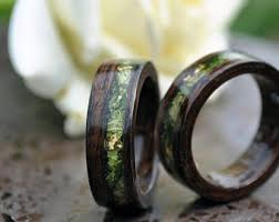 wood mens wedding bands wood wedding band etsy