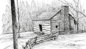 log cabin drawings dovetail log cabins