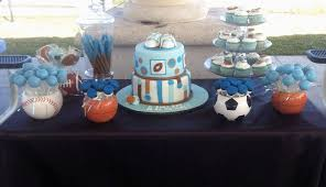 sports baby shower theme sports themed baby shower centerpieces sport theme ba shower boys