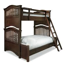 american woodcrafters cottage traditions twin over full bunk bed