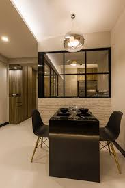 183 boon lay bto modern hdb interior design dining area dining