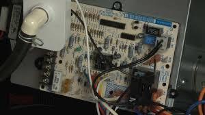 payne furnace won u0027t work replace control board hk42fz018 youtube