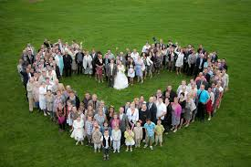 photo de groupe mariage photo demay prise de vue de groupe