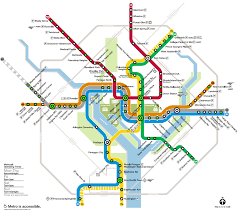 Metro Rail Map by Hotels In Washington Dc Near The Metro With Price Ranges Station