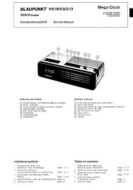 blaupunkt mega clock 7626200 sm service manual download