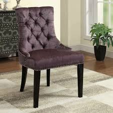 Upholstered Accent Chairs by Purple Accent Chair Caponata Purple Elliott Chair View Full Size