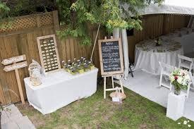 Simple Backyard Wedding Ideas Inexpensive Backyard Wedding Ideas Outdoor Goods