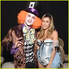 Mad Hatter Halloween Costume Ryan Lochte Mad Hatter Halloween Derek Hough Hayley