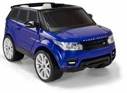 toy range rover avigo range rover sport 12 volt powered ride on blue toys