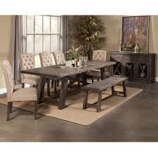 Seven Piece Dining Room Set Alpine Furniture 1468 22 Newberry Extension Dining Table In