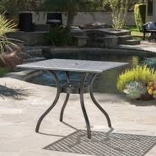 Outdoor Patio Tables Only Square Outdoor Dining Tables Shop The Best Deals For Nov 2017