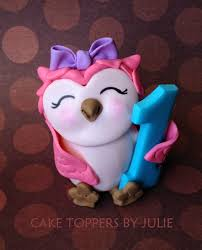 owl cake toppers custom cakes by julie 2015