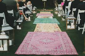 aisle runner wedding interior inspired palm springs wedding sam green