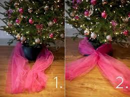 make a tulle christmas tree christmas lights decoration