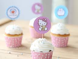 hello cupcake toppers free shipping hello cake toppers for party kids birthday