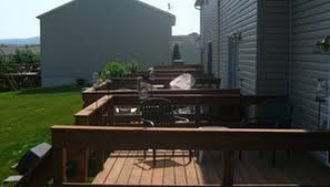 Backyard Deck Prices How To Estimate Deck Staining Prices Homesteady