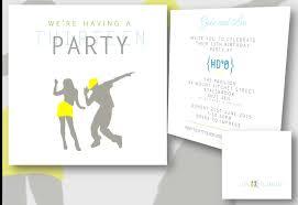 invitations for 13th birthday party birthdays u0026 any occasion celebration invitations design by caroline