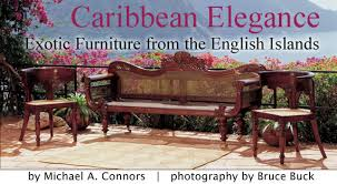 Colonial Settee Exotic Furniture From The English Islands By Michael A Connors