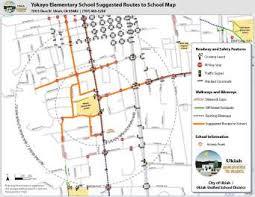 map ukiah ukiah safe routes to school helping make walking biking to