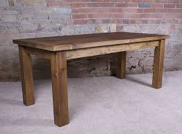 Rustic Wood Kitchen Tables - solid dining table and chairs dining table sets free delivery oak