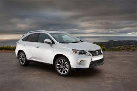lexus suv length 2013 lexus rx 350 f sport technical specifications and data