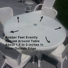 rubber bumpers for glass table tops keep your glass table tops clean free from sliding