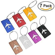nuolux travel luggage tags suitcase luggage bag tags