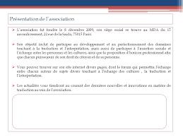 siege social traduction association des traducteurs et interprètes dossier de presse