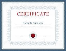 certificate template layout background frame design vector modern