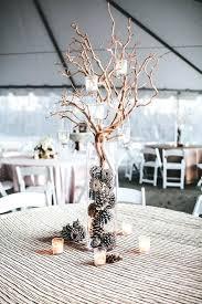 table decorations with pine cones pine cone centerpieces wedding wooden craft centerpiece idea ideas